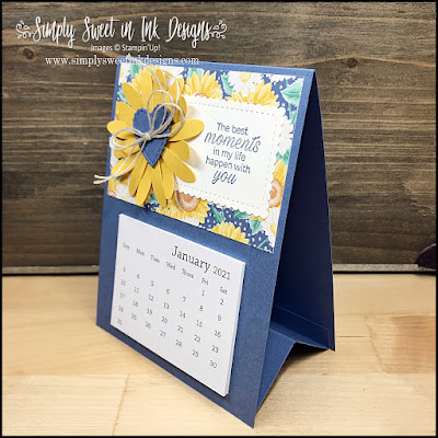 Make this fun and simple easel calendar that is perfect for gift giving...and even easy to mail to friends and family far away!