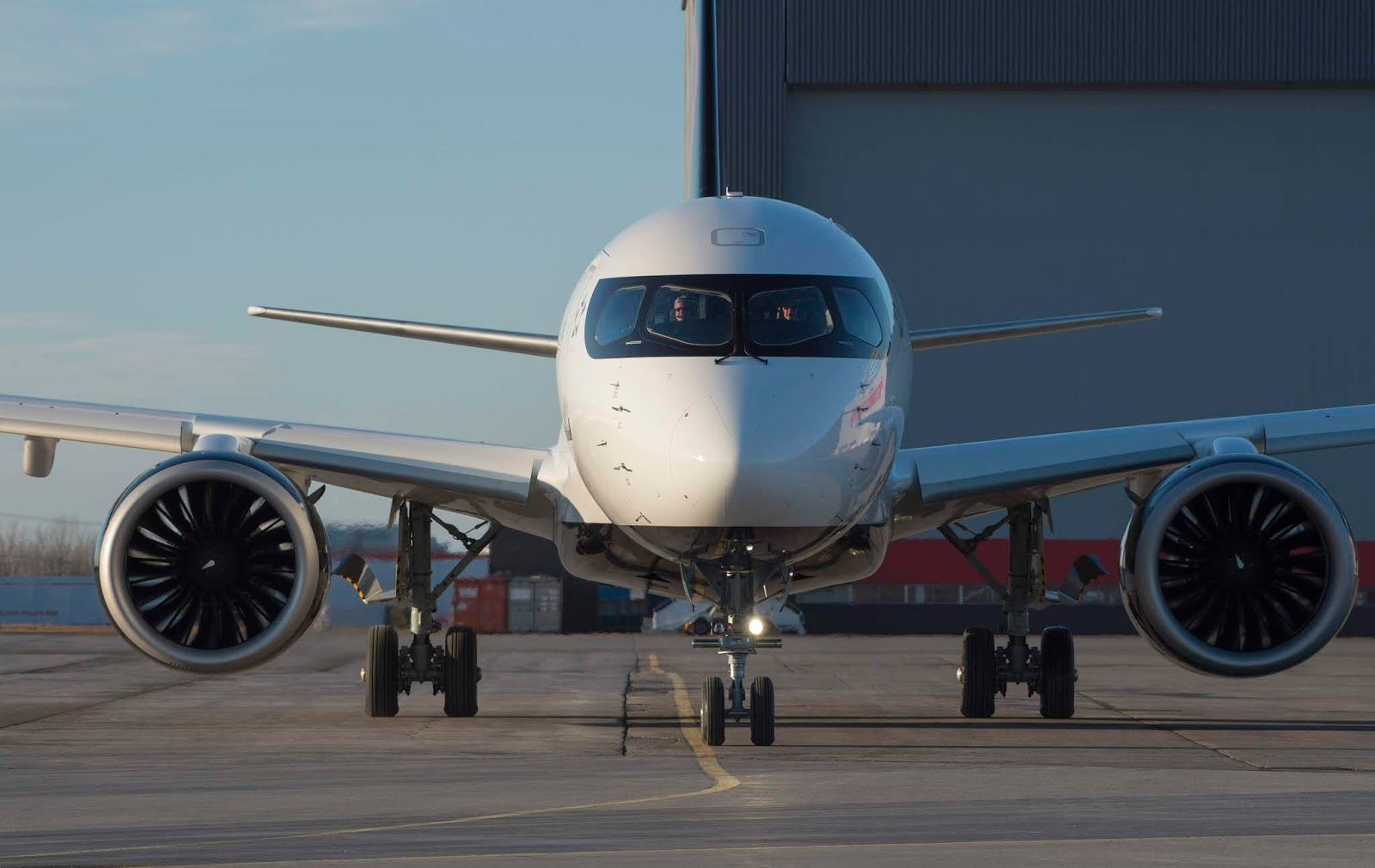 Air Canada unveils its Airbus A220 ahead of the first revenue flight this week