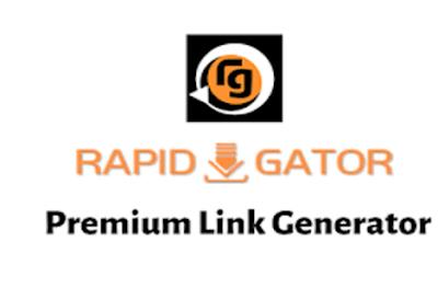 A Rapidgator Premium Generator Will Save You Money