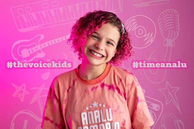 Analu Sampaio fala sobre a emoção de estar na semifinal do The Voice Kids