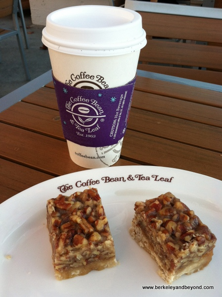 coffee and at The Coffee Bean at Malibu Country Mart in Malibu, California
