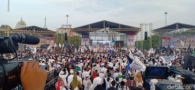 Habib Rizieq: Haram Pilih Capres-Caleg Partai Pendukung Penista Agama