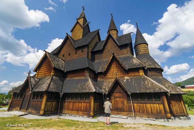 Iglesia de madera de Heddal - Noruega, por El Guisante Verde Project
