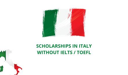 منح دراسية في إيطاليا بدون IELTS في إيطاليا 2022/2023 ITA