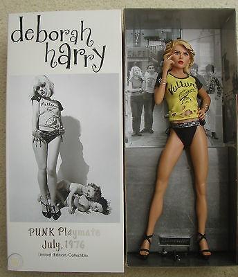 """Blondie Deborah """"Debbie"""" Harry PUNK Playmate July 1976 doll.  PYGear.com"""