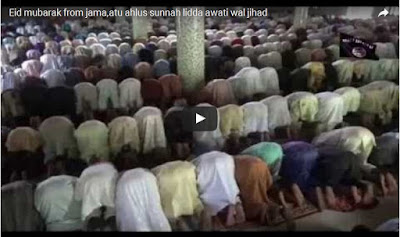 Breaking!! Boko Haram Releases Video Showing Members Praying In Large Numbers – Watch