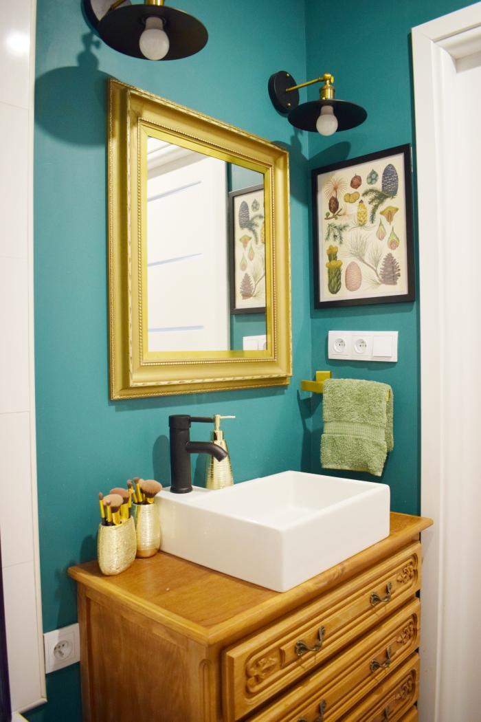 Moje patenty w małej łazience, metamorfoza łazienki przed i po!