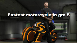 The best motorcycle are put to the test to determine the fastest in GTA Online