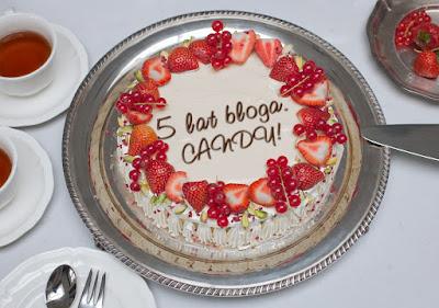 Candy na kolejną rocznicę bloga