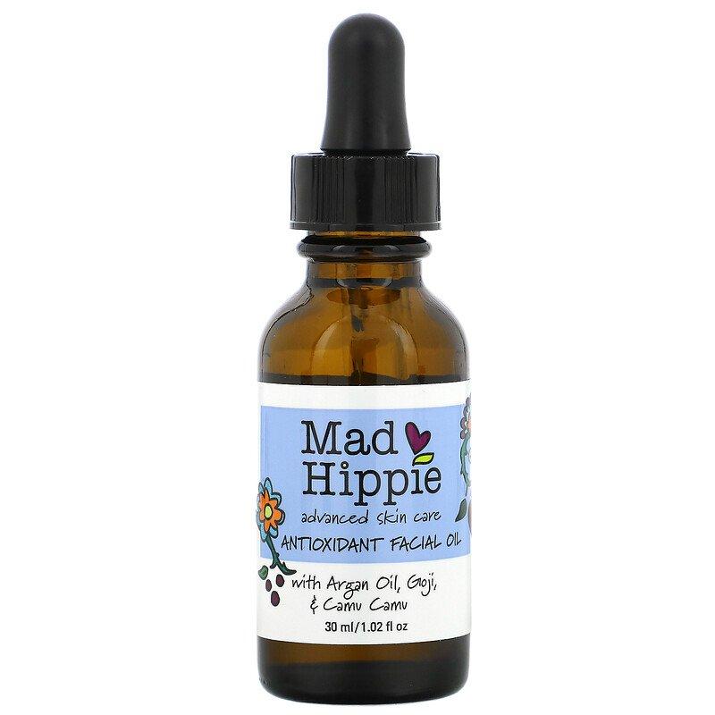 Mad Hippie Skin Care Products, Антиоксидантное масло для лица, 30 мл (1,0 жидкая унция)