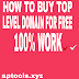 How to buy top level domain for free | 100% work |