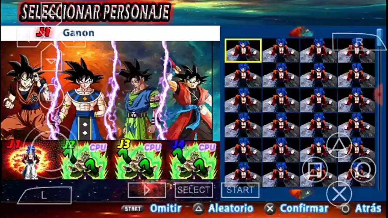DBZ Tenkaichi Tag Team Mod With Menu