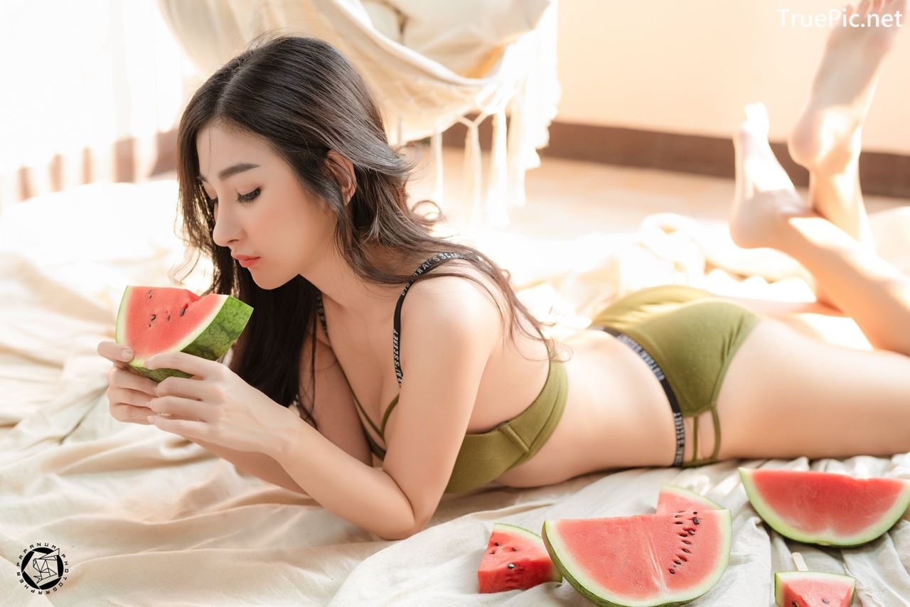 Image-Thailand-Sexy-Model-Pattamaporn-Keawkum-Concept-Sweet-Watermelon-TruePic.net- Picture-5