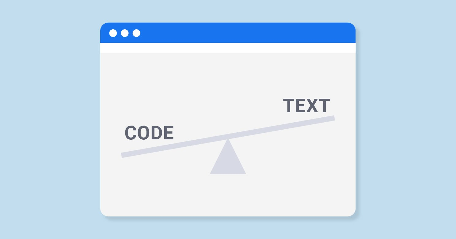 What is Text-to-HTML Code-Ratio