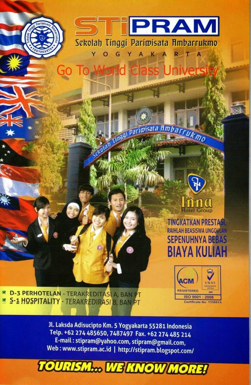 STiPRAM Yogyakarta Membuka Pendaftaran (Gratis) Mahasiswa Baru