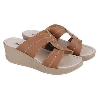 Sandal Wedges Wanita Catenzo MC 749