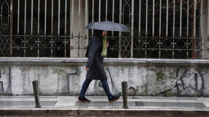 Έκτακτο δελτίο επιδείνωσης του καιρού - Έρχονται Ισχυρές βροχές και καταιγίδες