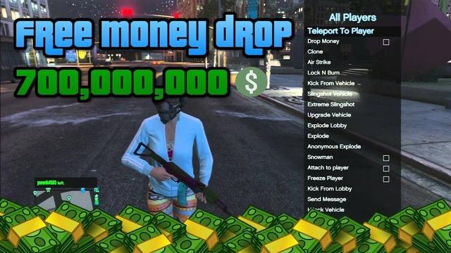 Free GTA V Mod Menu Lobby