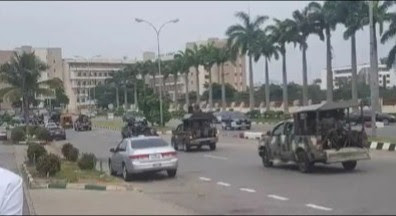 Tension As Soldiers Arrest More Than 40 Protesters In Abuja (Photos)