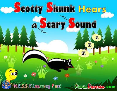 Scotty the Skunk Children's Curriculum Unity Study