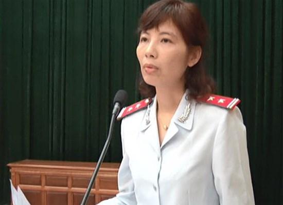 Bà Nguyễn Thị Kim Anh