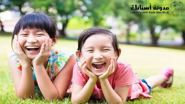 مشاكل تسوس الاسنان عند الأطفال.