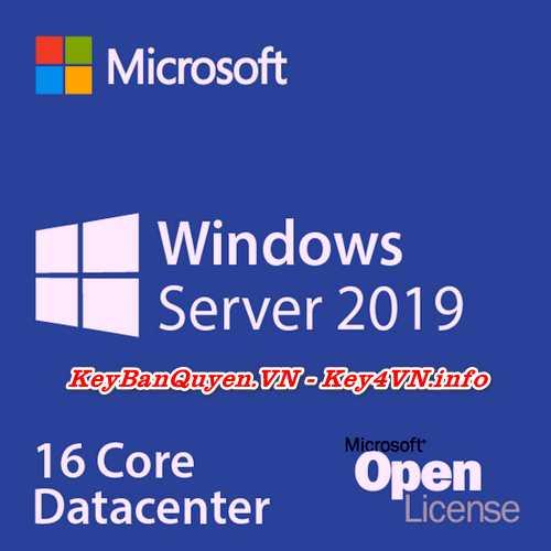 Mua bán key bản quyền Windows Server 2019 Datacenter.
