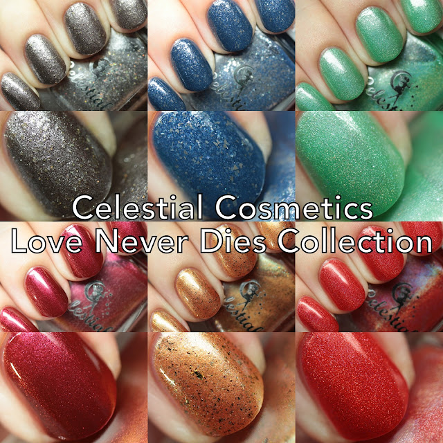 Celestial Cosmetics Love Never Dies Collection