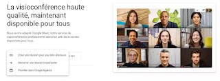 Google Meet introduit de nouvelles options pour créer une réunion