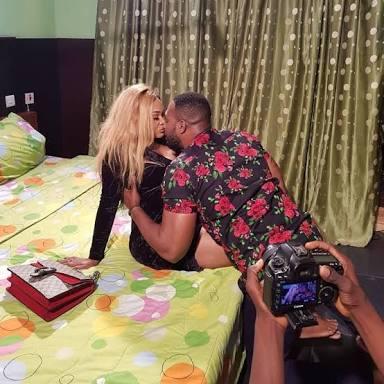 Mercy Aigbe and Bola Ninalowo