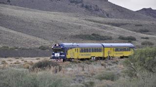 Vuelve a funcionar el tren entre Jacobacci y Bariloche