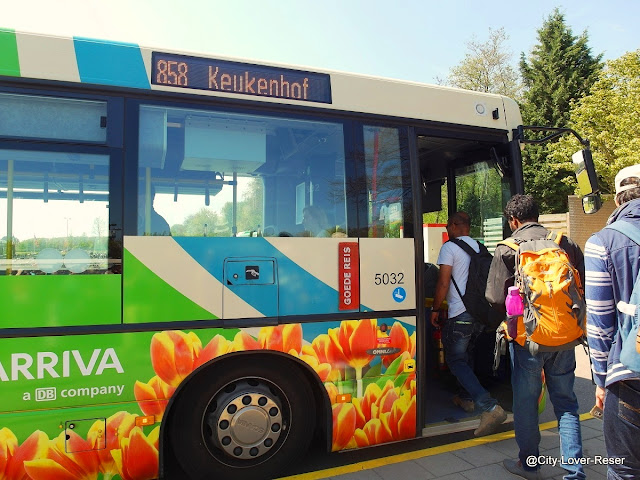 buss till Keukenhof