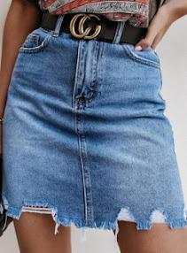 BerryLook jeans skirt