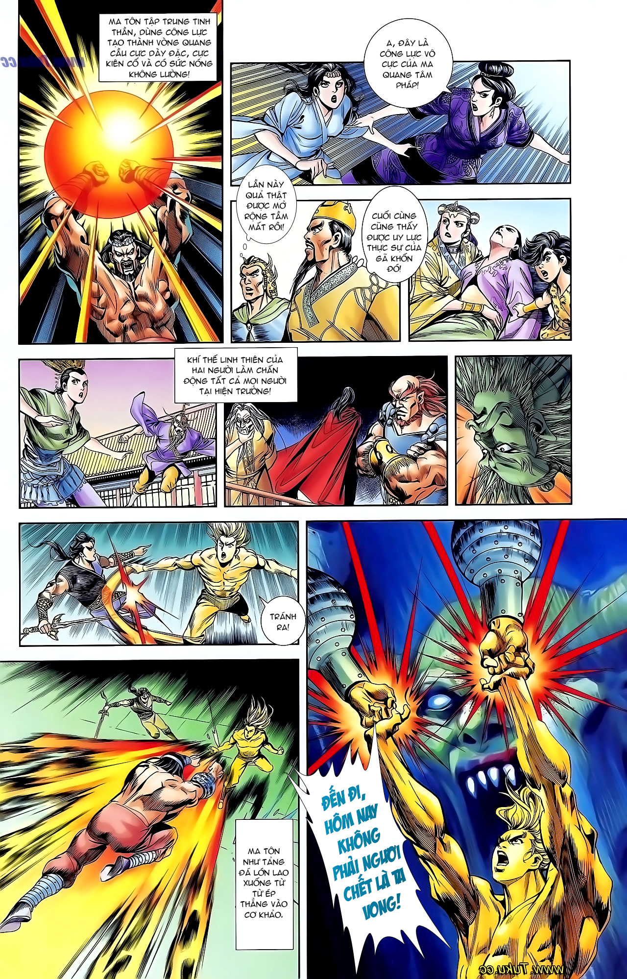 Cơ Phát Khai Chu Bản chapter 125 trang 31