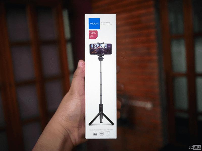 Bluetooth Remote Selfie Stick with Tripod