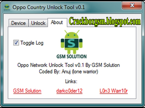 Oppo Country Unlock Tool V0.1 100% Working Free Download