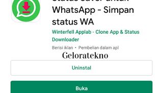 Tips agar Status WhatsApp bisa Terdonwload - geloratekno.com