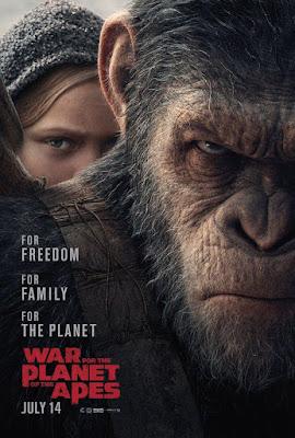 La guerra del planeta de los simios - cartel