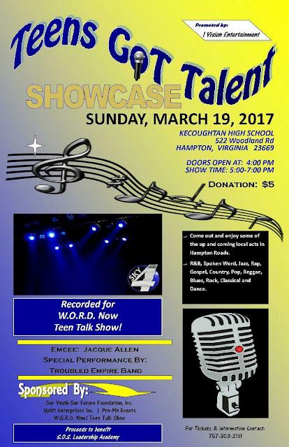 show open talent showcase sunday