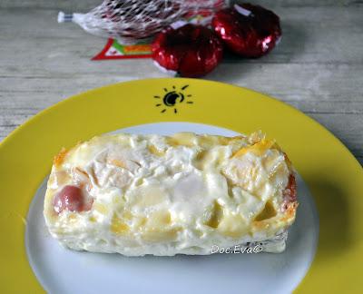 Eier mit Bacon und Käse