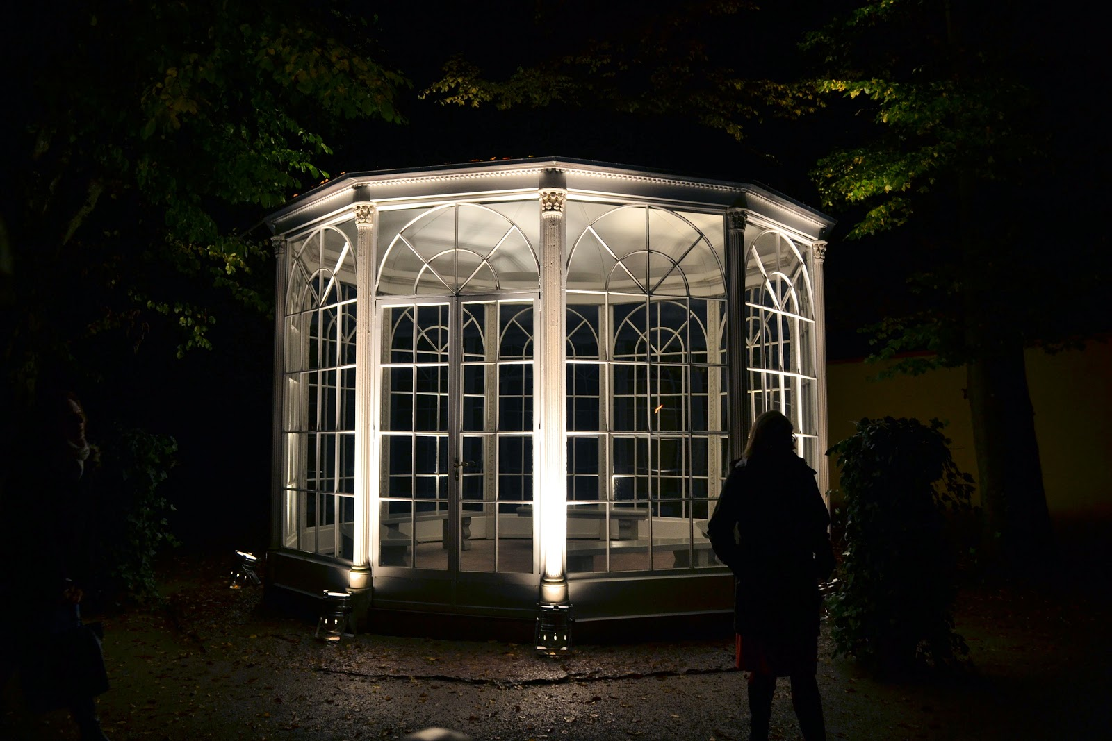'The Sound of Music' gazebo, now at the Hellbrunn Palace, was originally located at the Leopoldskron Palace during film production.