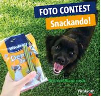 """Vitakraft """"Foto contest Snackando"""" : vinci gratis 6 forniture di prodotti"""