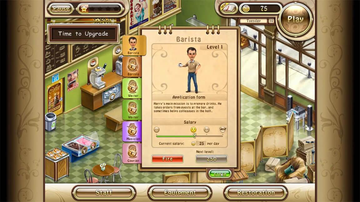 لعبة Organic Coffee