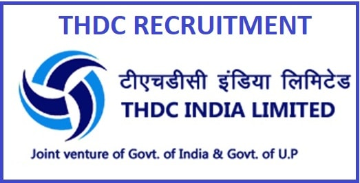 THDC ET Personnel and PR Recruitment 2020