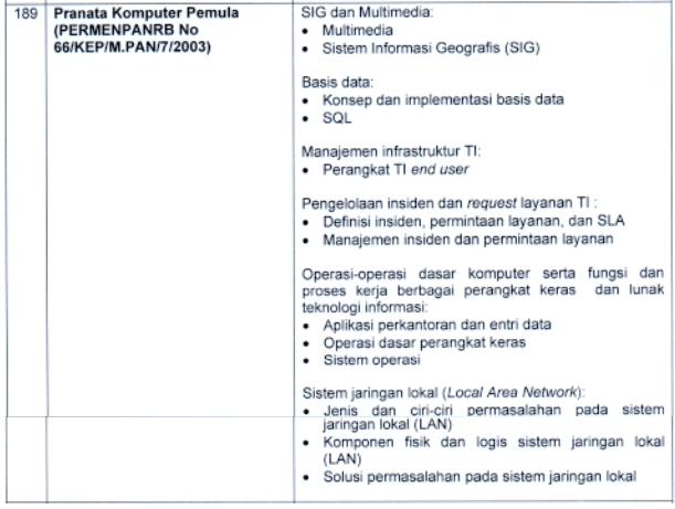 kisi-kisi materi skb Pranata Komputer Pemula formasi cpns pppk tahun 2021 tomatalikuang.com