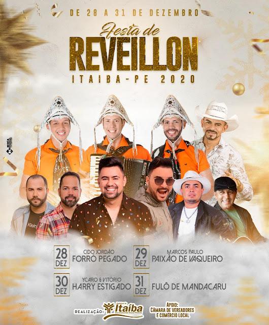 Com quatro dias de festa prefeita de Itaíba promete  promover Maior Réveillon do Interior de Pernambuco de 28 a 31 de Dezembro