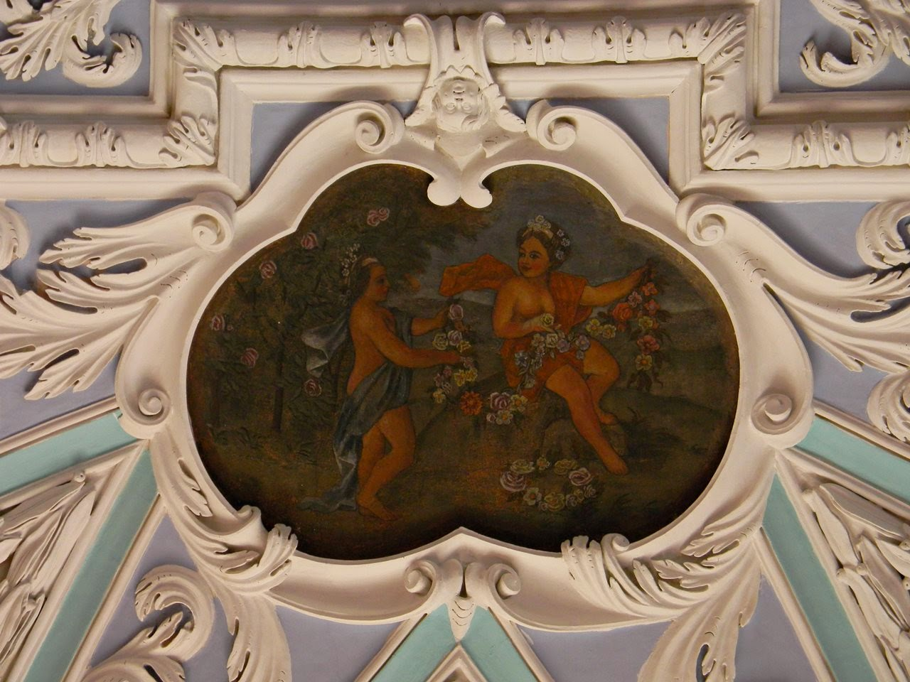 klasztor, Henryków, cystersi, wystrój wnętrza