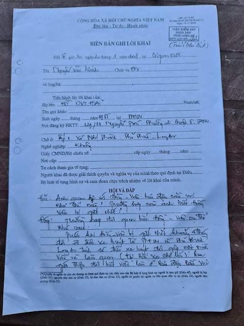 Hồ Duy Hải đã khai đi đám ma lúc 20h và gặp rất nhiều người lúc xẩy ra vụ án