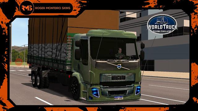 SKINS WTDS - ROGER MONTEIRO SKINS - SKINS WORLD TRUCK DRIVING SIMULATOR