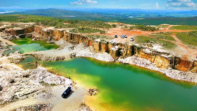 Pedreira Lagoa Azul - Capitólio - MG -  http://goldenseacapitolio.com.br/